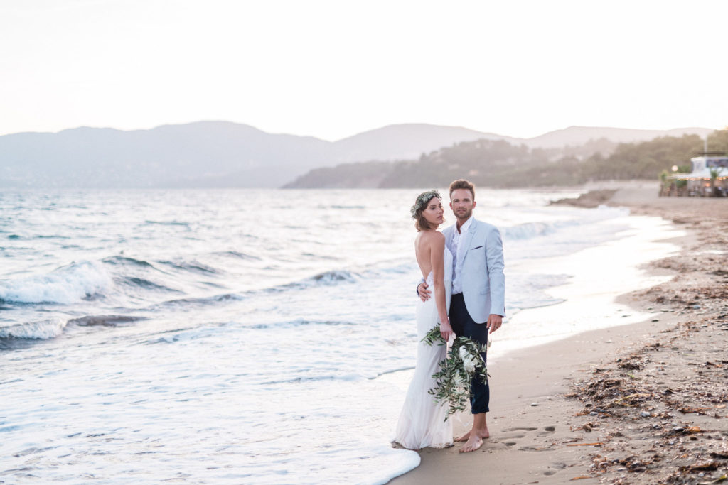 Mariage plage wedding south of france